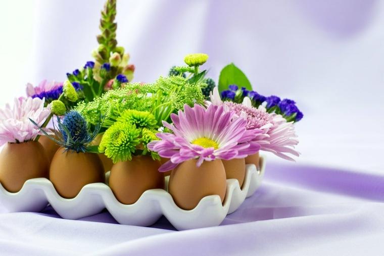 mesas de jardin-decoradas-flores-huevos