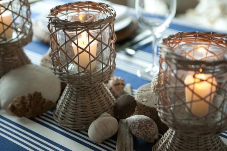 mesas de jardin-modernas-velas