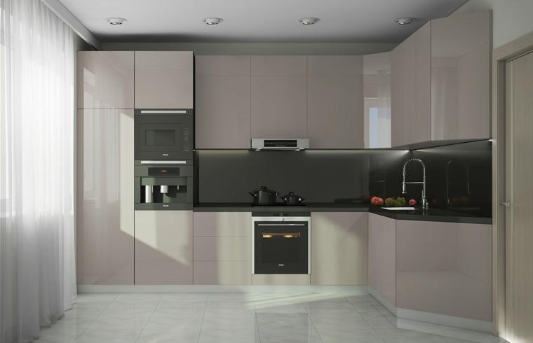 modelos de cocinas-minimalistas-elegantes