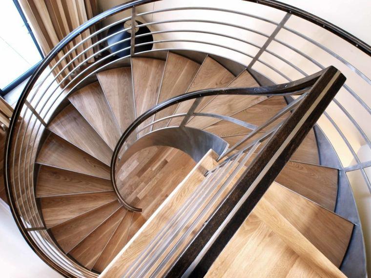 modelos de escaleras-caracol-modernas