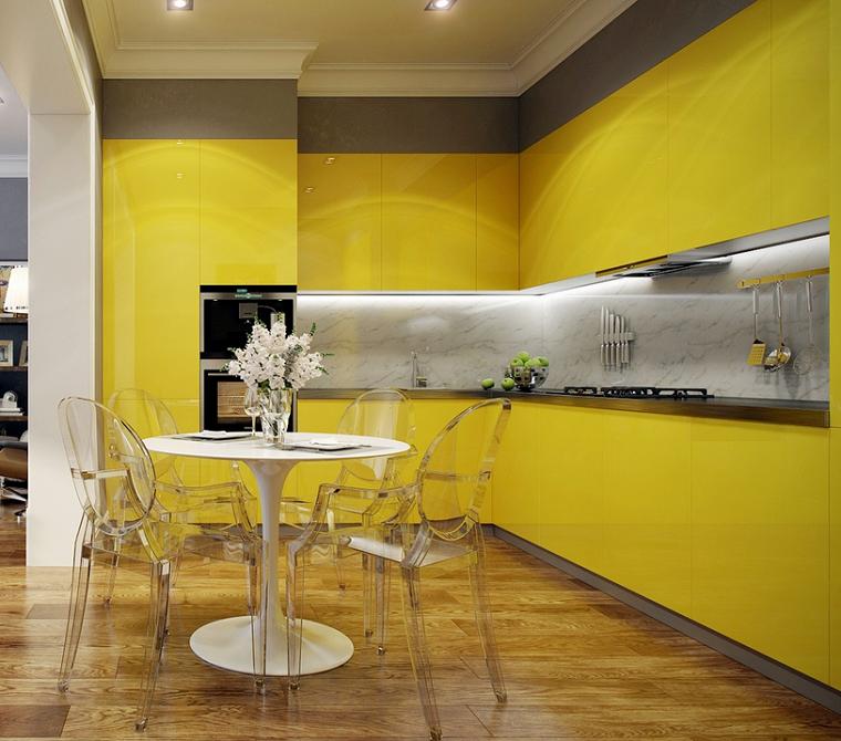 muebles-amarillos-cocicna-diseno-moderno