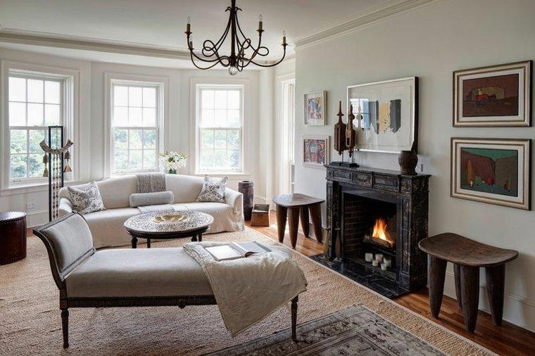muebles-blancos-diseno-sala-estar-decoracion-rustica