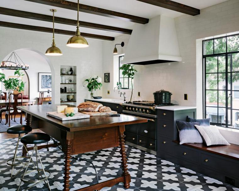 muebles cocina-moderna-madera