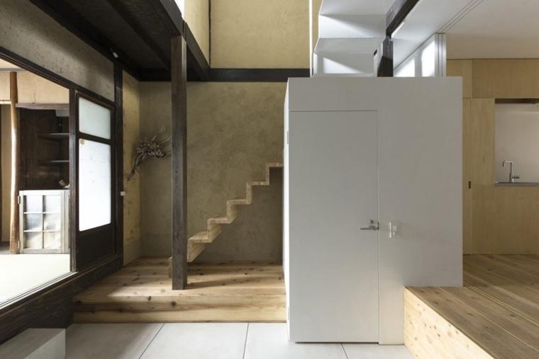 muebles contemporáneos casa-restaurada