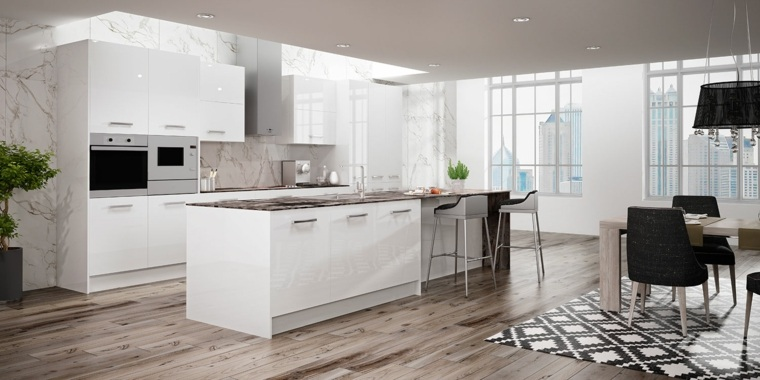 muebles de madera para cocina-moderna