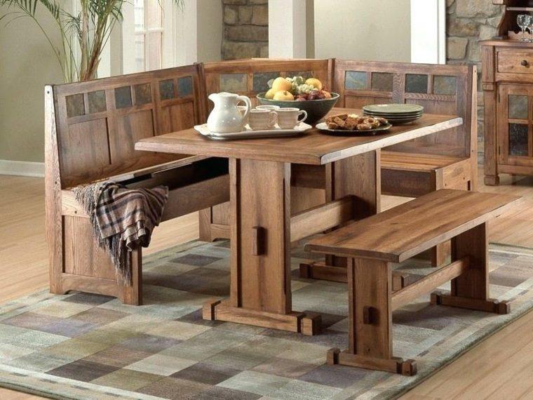 muebles de madera para cocina-rustica