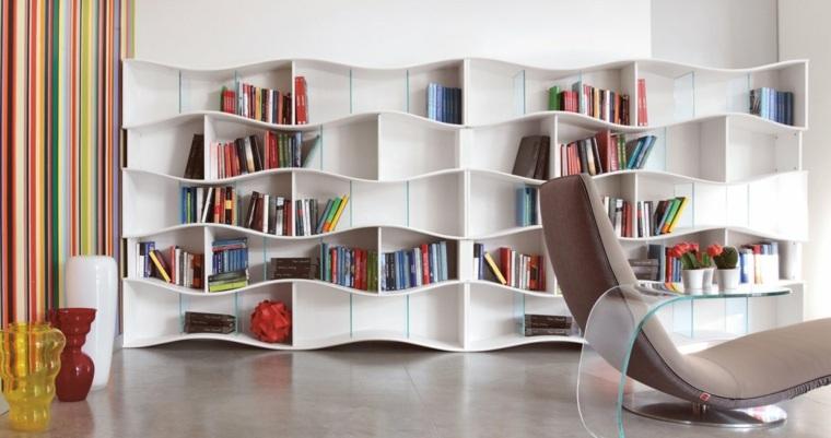 muebles de sala-libros-modernos