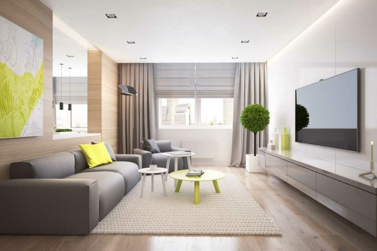 muebles de sala-modernos-pequenos