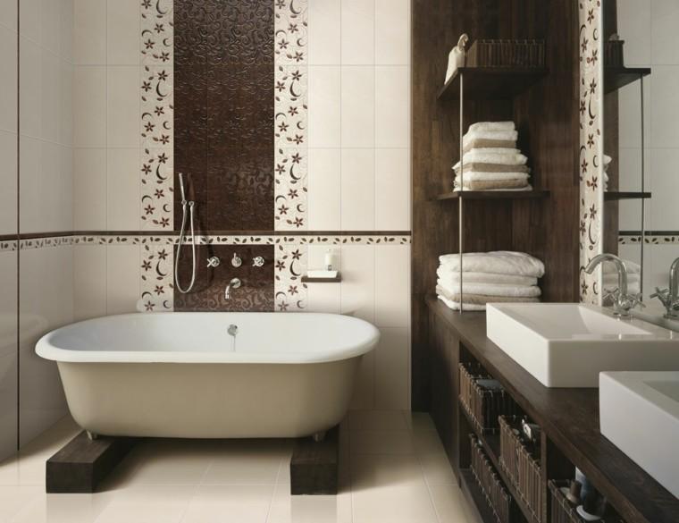 muebles modernos-decorar-banos-pequenos