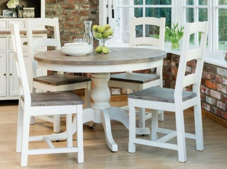 Mesas de cocina de diferentes estilos para decorar el interior -