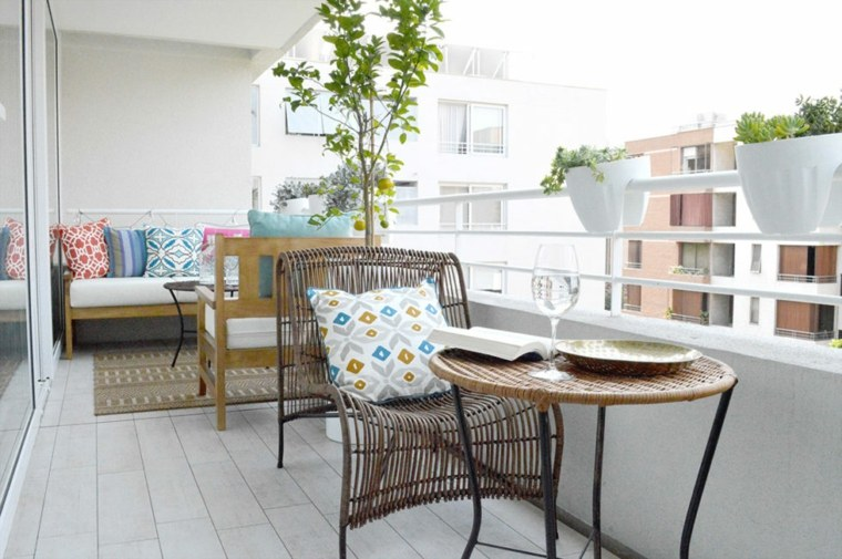 muebles para terraza-moderna-simple