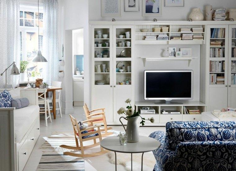 sala de estar con muebles Ikea