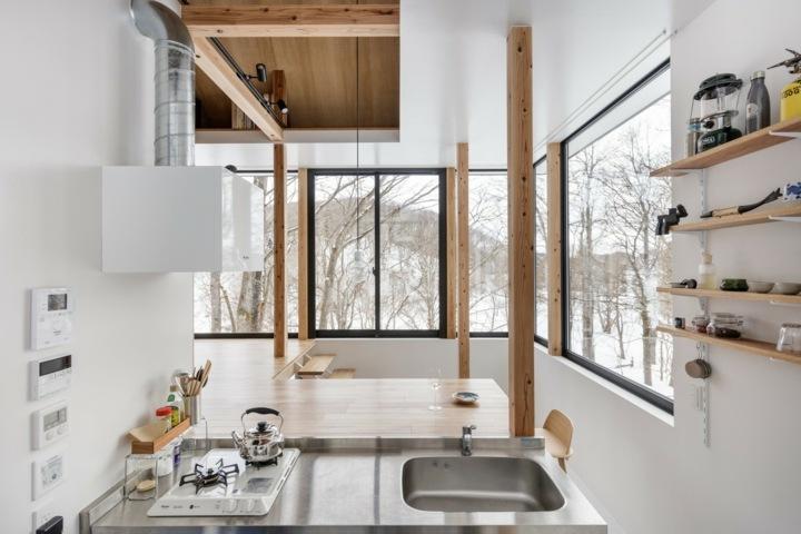 paisajes naturales cocina interior