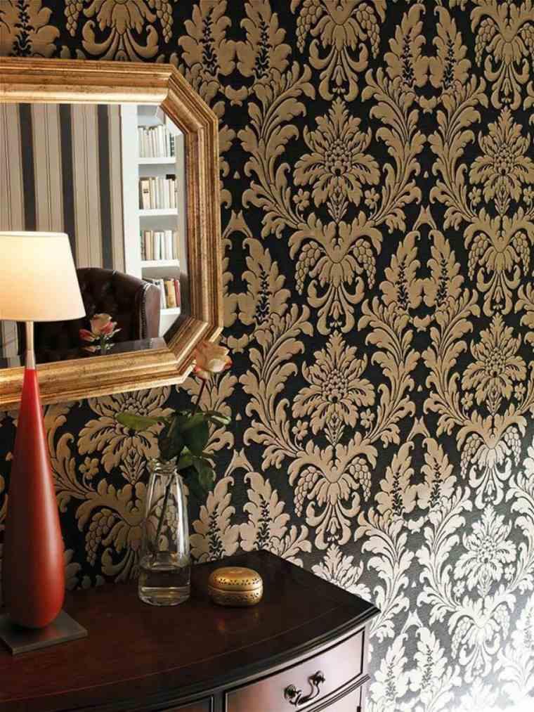papel para pared-estilo-retro-decorar