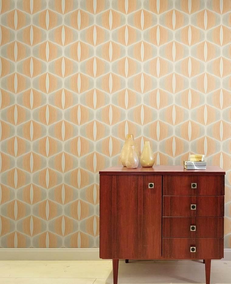 papel pintado-estilo-retro-decorar