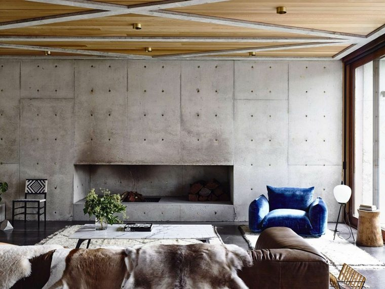 diseño de interior estilo wabi sabi