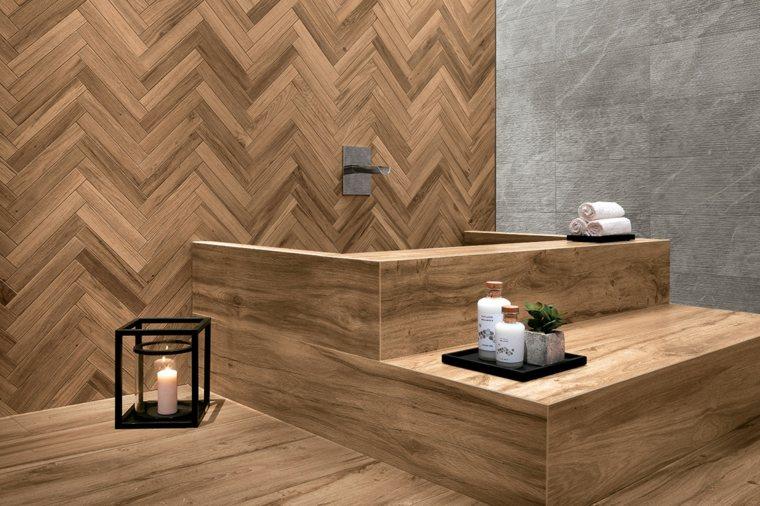 Paredes decoradas con enlosado de madera y los tipos más utilizados -