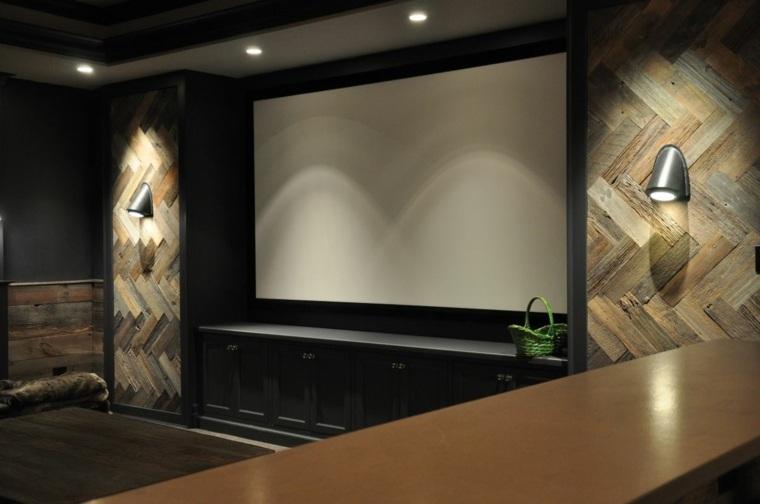paredes decoradas-enlosado-madera-salones