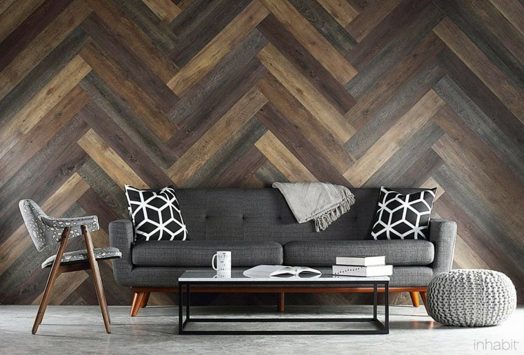 paredes decoradas-madera-salones-enlosado