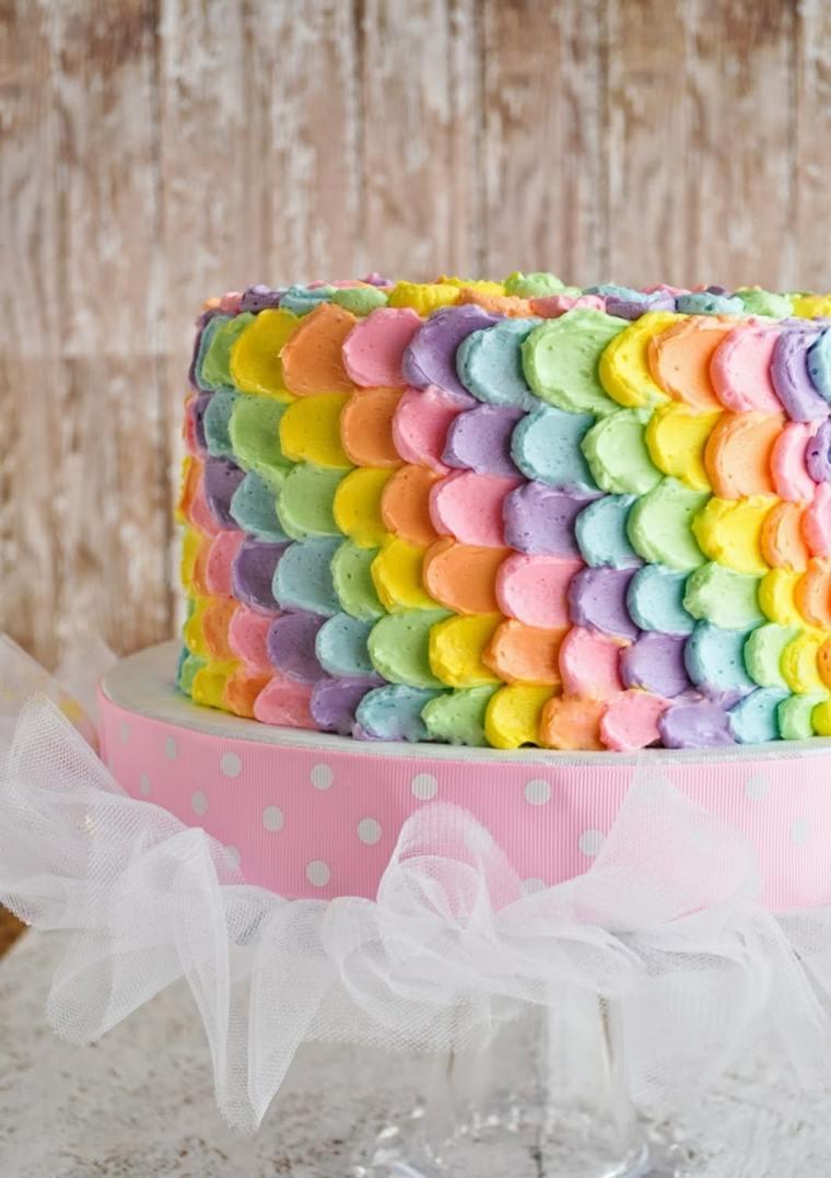 pastel-colorido-cumpleanos-nina-ideas-colores-pastel