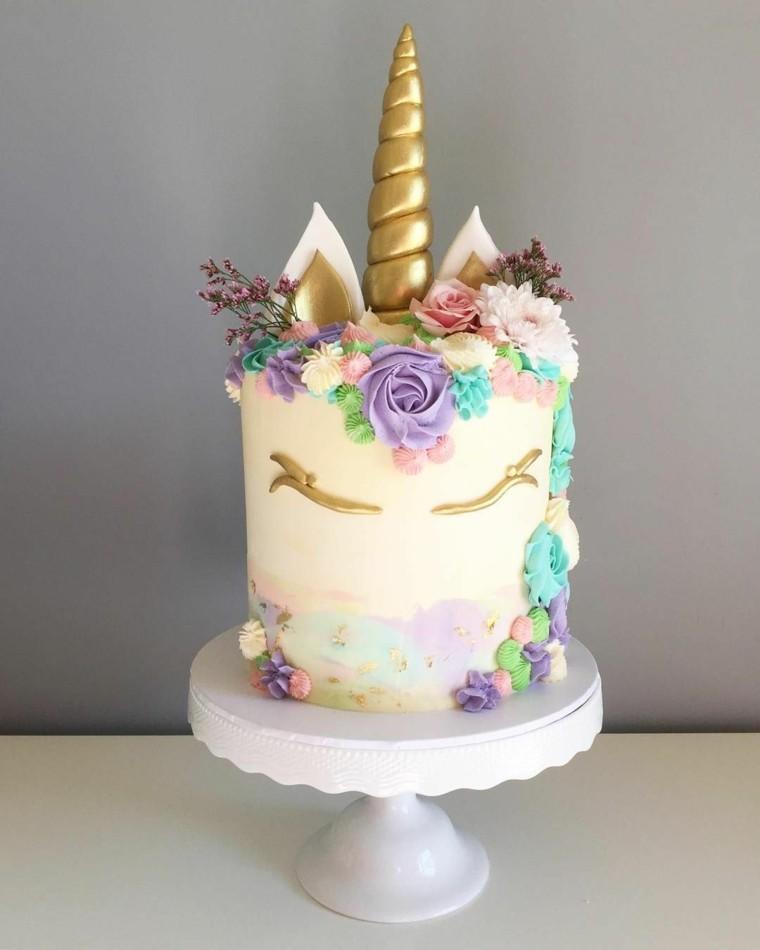 pastel-cumpleanos-nina-unicornio-bello