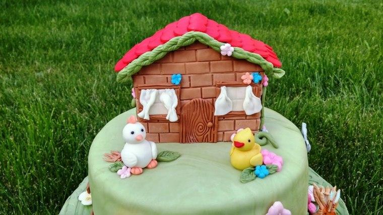 pastel-cumpleanos-ninas-casita-ideas