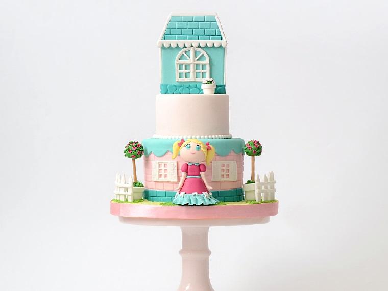 pastel-nina-casita-original-diseno
