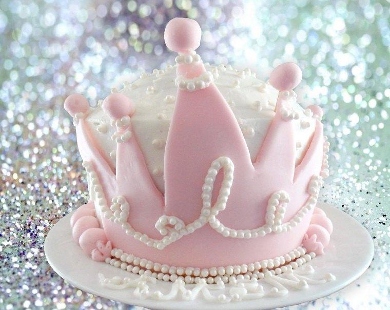 pasteles-para-ninas-brillo-perlas-color-ros-princesa