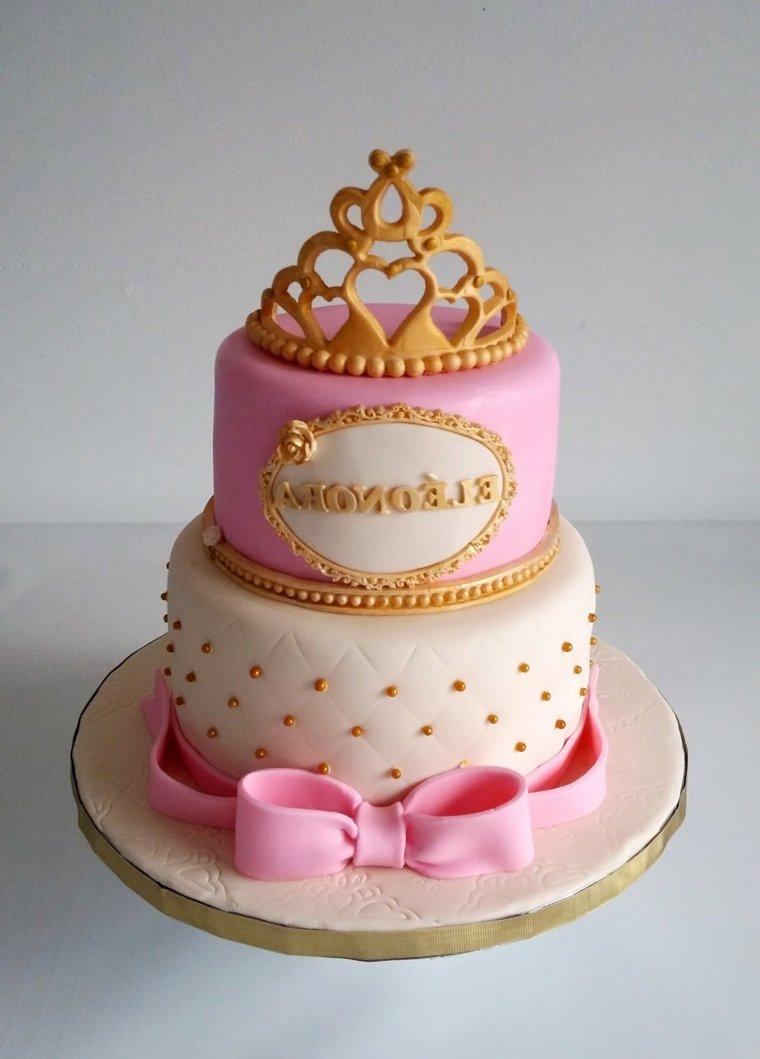pasteles-para-ninas-dos-pisos-rosa-blanco-lazo