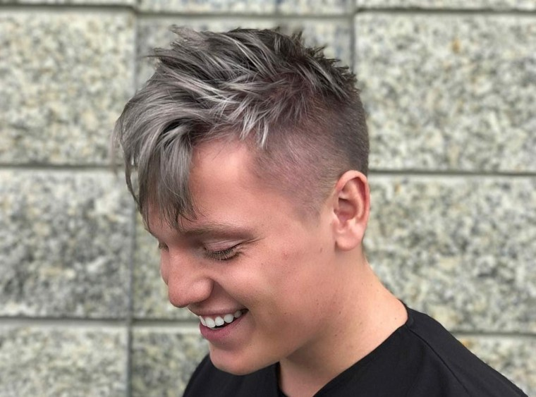 Peinados desordenados para hombres