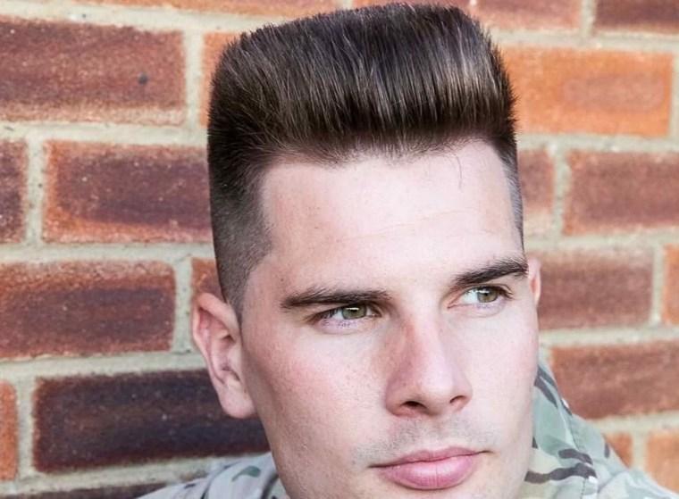 peinados cortos para hombres-flattop