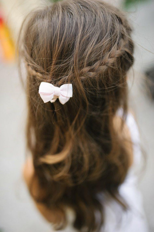 peinados faciles para niñas elegantes