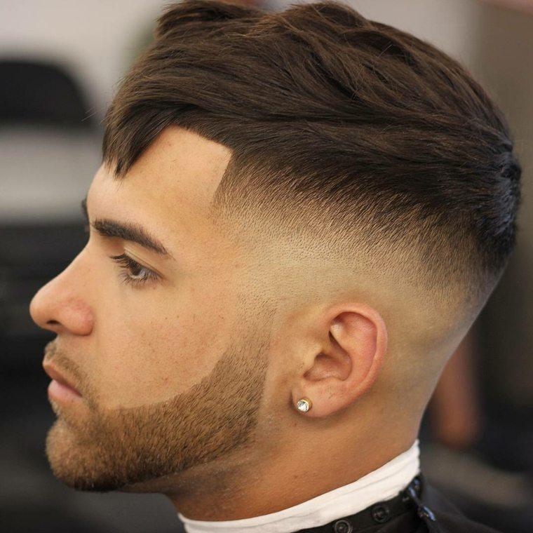 Peinados Modernos Para Hombre Tendencias Primaveraverano 2018 - Peinados-modernos-para-hombres