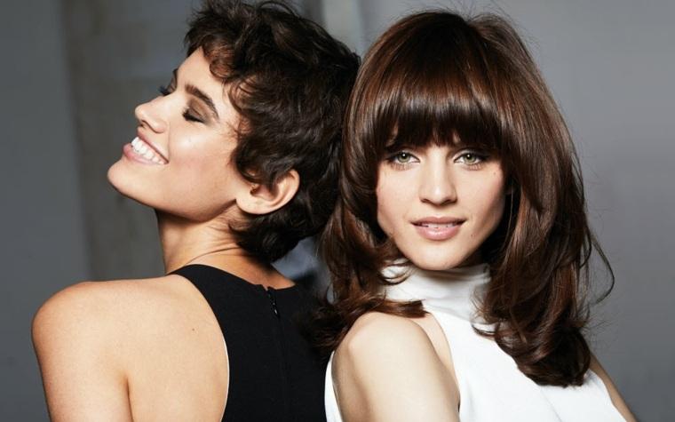 peinados modernos-mujeres-chocolate-blush