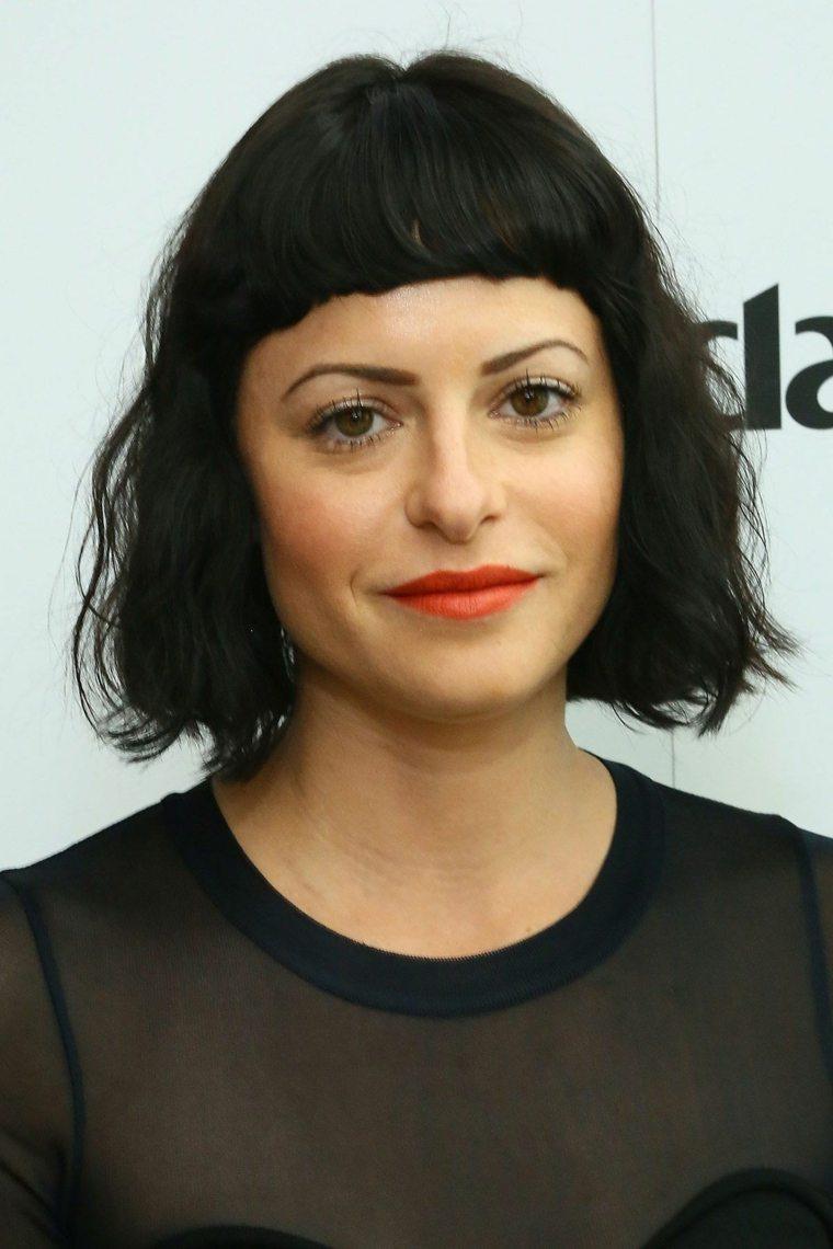 peinados modernos-mujeres-flequillo-amelie