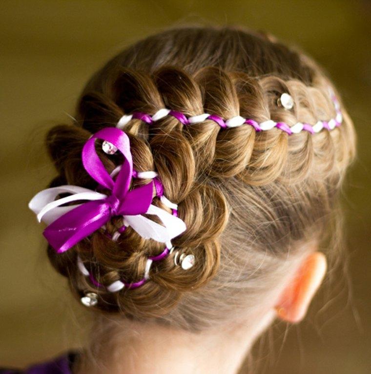 peinados modernos para niñas pequeñas