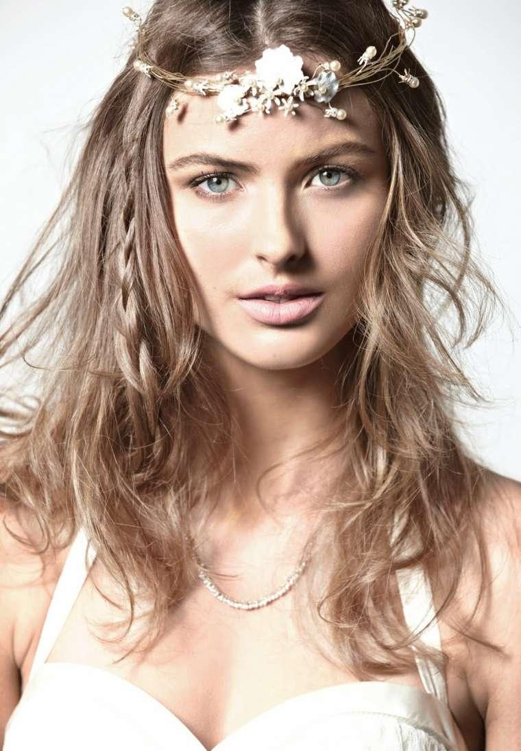 peinados para chicas-naturales-boho-chic
