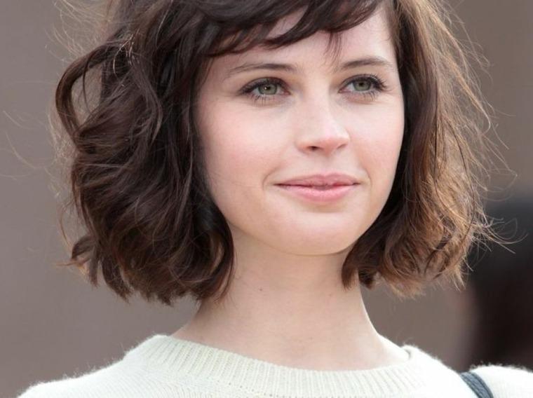 peinados para mujeres-cabello-wavy-bob