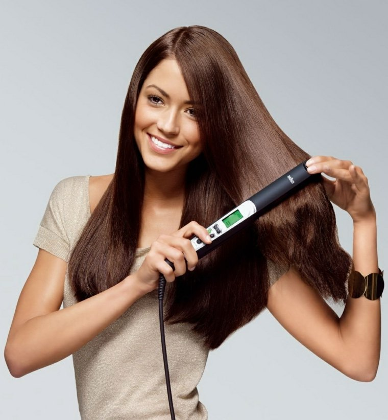 peinados para mujeres-liso-extremo