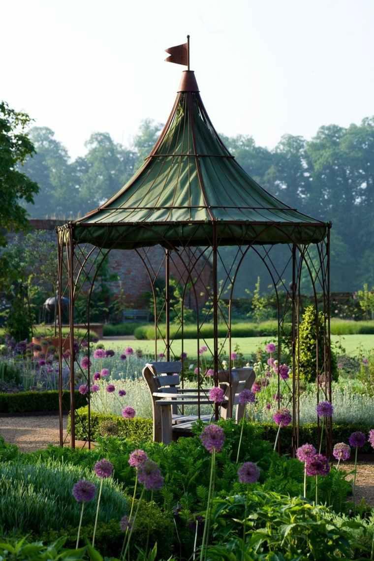 pergola-acero-jardin-opciones-originales-estilo