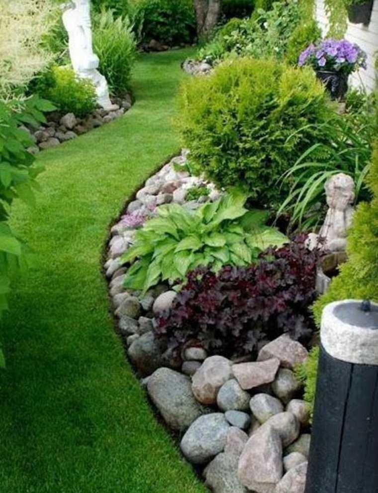 barreras para delimitar jardines