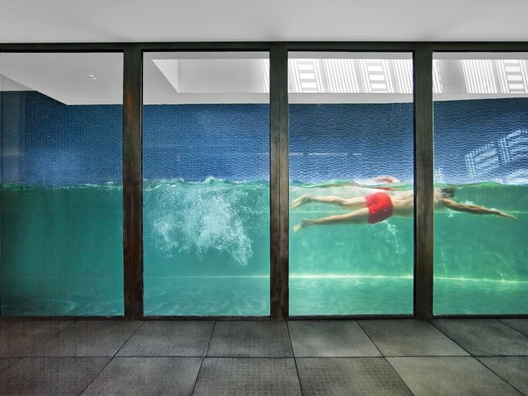 piscina-con-pared-transparente-de-vidrio