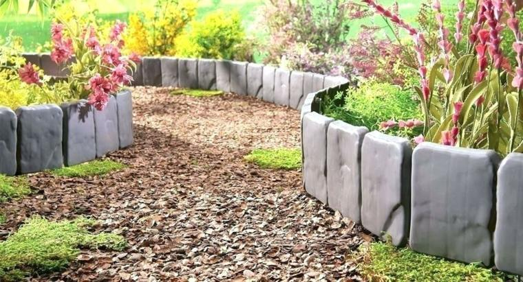 bordes de jardín