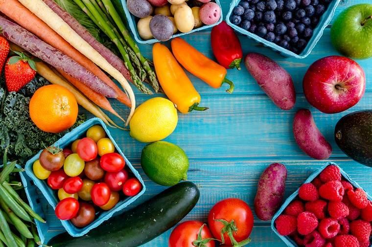 recetas de ensaladas fáciles primavera-beneficios-frutas-verduras