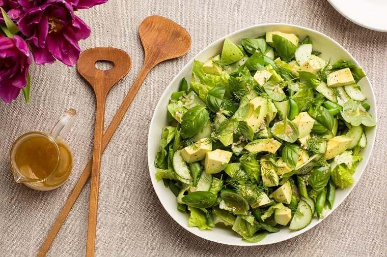 recetas de ensaladas fáciles primavera-ensaladas-verde