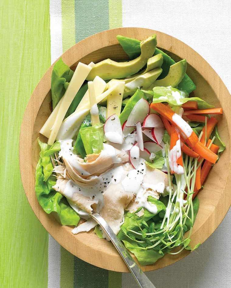 recetas de ensaladas fáciles primavera-fibras