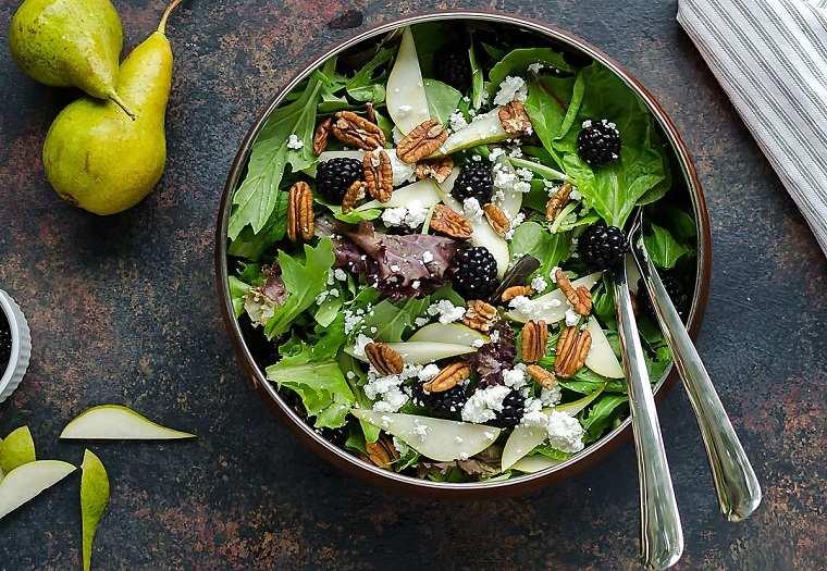 recetas de ensaladas fáciles-primavera-frutas-verduras
