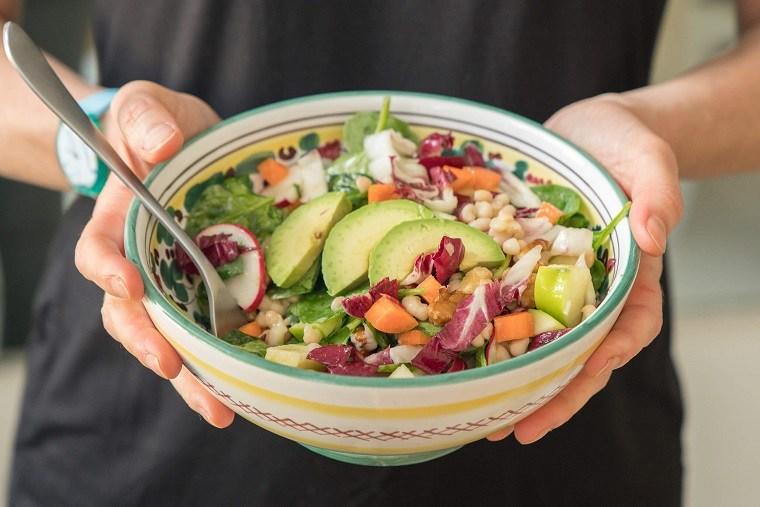 recetas de ensaladas fáciles-primavera-salud