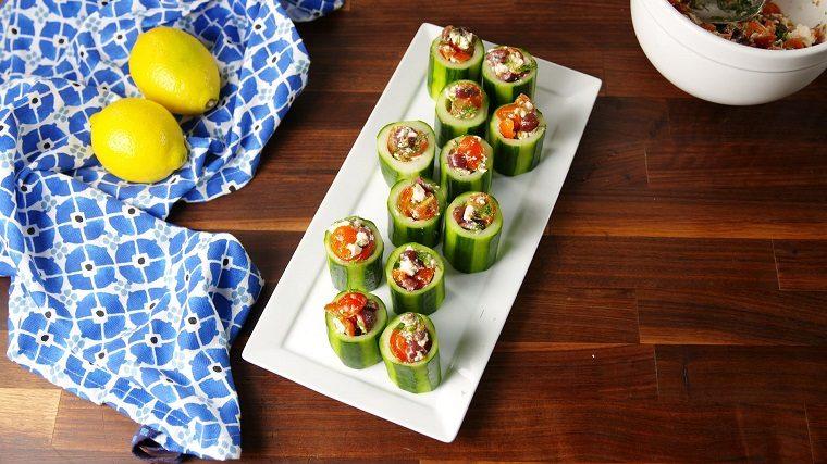 recetas-sencillas-opciones-fiesta-ensalada-pepino