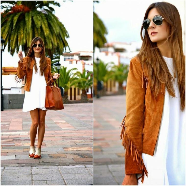 ropa casual de mujer-flecos-primavera